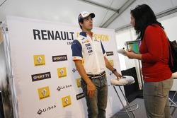 Press conference with Lucas Di Grassi