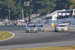A battle for position going into turn 1