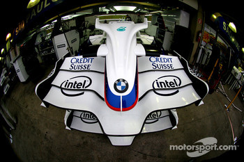 BMW Sauber F1 Team, Front wing