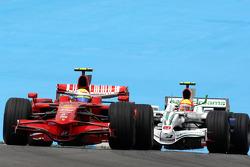 Felipe Massa, Scuderia Ferrari, Rubens Barrichello, Honda Racing F1 Team