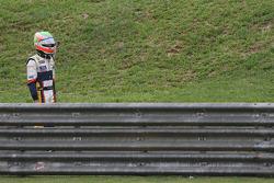 Nelson A. Piquet, Renault F1 Team crashed