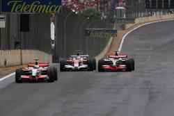 Jarno Trulli, Toyota F1 Team, Heikki Kovalainen, McLaren Mercedes