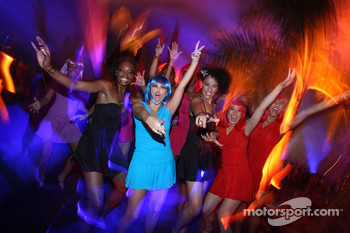 End of season party, Memorial da America Latina: girls