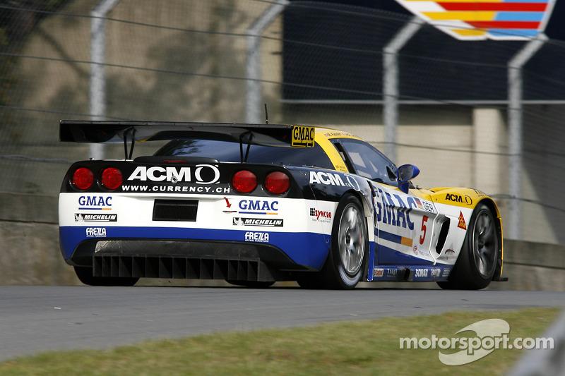 #5 Phoenix Racing Corvette Z06: Marcel Fassler, Jean-Denis Deletraz