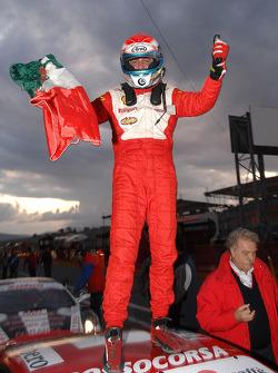 Friday race: race winner Niki Cadei