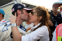 Andy Priaulx and his wife Jo