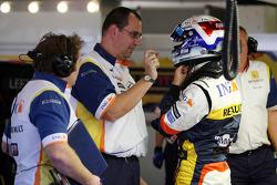 Giedo Van Der Guarde Test Driver, Renault F1 Team