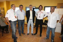 Alberto Rodriguez Saa, Juan Mario Traverso, Stéphane Ratel and Pablo Peon