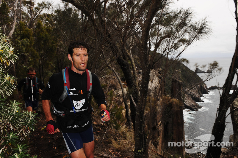 Port Arthur, Australia: Mark Webber of Pure Tasmania in action