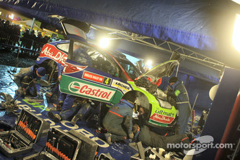 Ford World Rally Team service area
