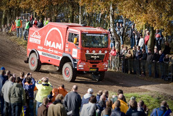 MAN Rally Team presentation: Hans Stacey, Charly Gotlib and Bernard der Kinderen