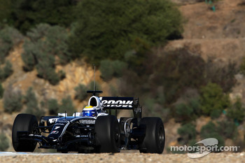 Nico Rosberg, WilliamsF1 Team,  interim 2009 car
