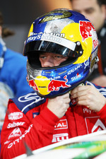 Quarter final, race 2: Sébastien Loeb gets ready