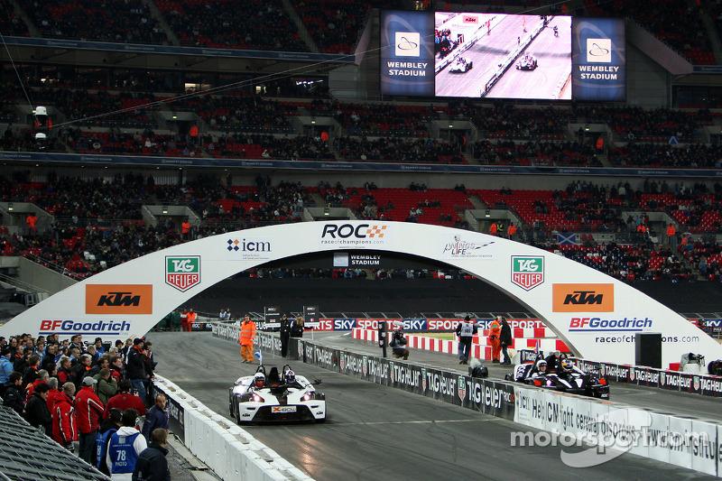 Final, race 2: Sébastien Loeb vs David Coulthard