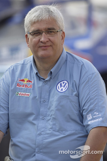 Volkswagen Motorsport: Peter Utoft, team manager