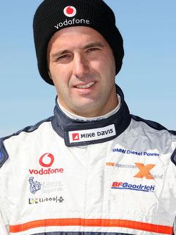 X-raid team: driver Miguel Barbosa