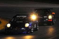 #65 TRG Porsche GT3: Marco Holzer, Bryce Miller, John Potter, Craig Stanton, #31 Matt Connolly Motorsports Porsche GT3: Bob Michaelian, Jim Michaelian, Pepe Montano