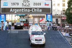 #399 Toyota Land Cruiser Prado: Francisco Pita and Humberto Goncalves