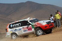 #402 Toyota Land Cruiser 120: Martine Campos Pereira and Jose Manuel Teixeira Marques