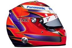 Helmet of Kamui Kobayashi