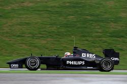 Nico Hulkenberg, Test Driver, WilliamsF1 Team, FW31