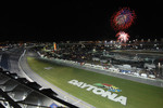 Fireworks over Daytona International Speedway