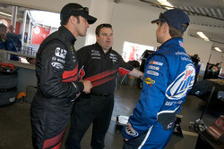 David Stremme, Penske Racing Dodge, and Kurt Busch, Penske Racing Dodge