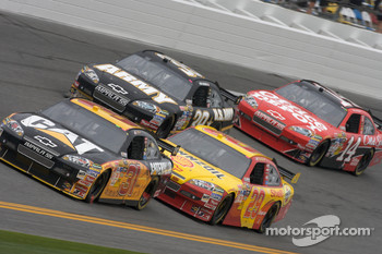 Jeff Burton, Richard Childress Racing Chevrolet, Kevin Harvick, Richard Childress Racing Chevrolet, Ryan Newman, Stewart-Haas Racing Chevrolet, Tony Stewart, Stewart-Haas Racing Chevrolet