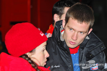Sébastien Ogier and Julien Ingrassia, Citroen C4 WRC, Equipe de France FFSA