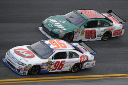 Bobby Labonte, Hall of Fame Racing Ford, and Dale Earnhardt Jr.,Hendrick Motorsports Chevrolet