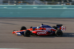Milka Duno, Newman/Haas/Lanigan Racing