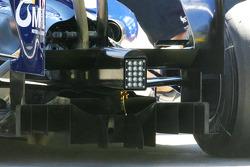 Williams F1 Team diffusor