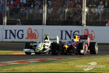 Rubens Barrichello, Brawn GP, Sebastian Vettel, Red Bull Racing, RB5