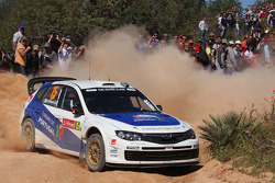 Marcus Gronholm and Timo Rautianen, Subaru Impreza WRC 08