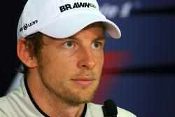 FIA press conference: Jenson Button, Brawn GP