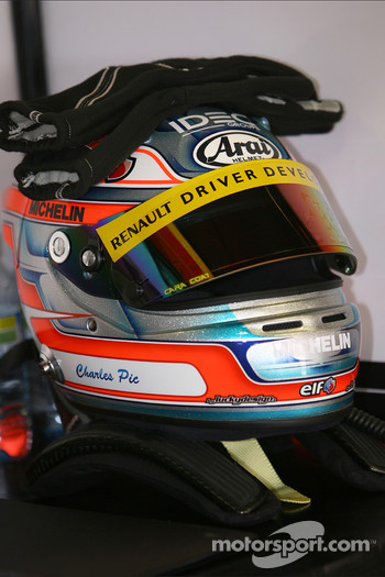 Helmet of Charles Pic