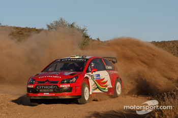 Conrad Rautenbach and Daniel Barritt, Citroen Junior Team Citroen C4 WRC