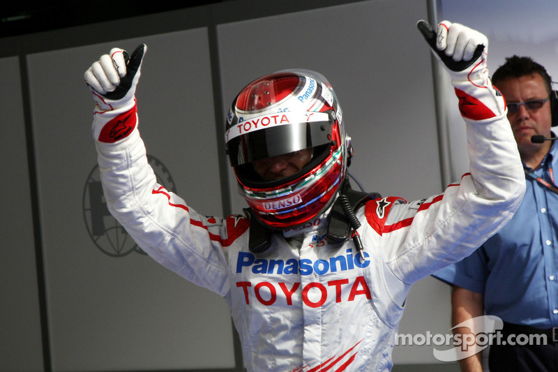 Pole winner Jarno Trulli, Toyota Racing
