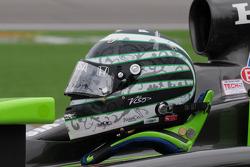 Ernesto Viso's, HVM Racing helmet