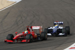 Felipe Massa, Scuderia Ferrari and Nico Rosberg, Williams F1 Team