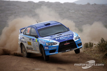 Marcos Ligato and Ruben Garcia, Mitsubishi Lancer Evo X
