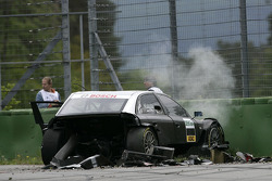 Crash of the Audi Test car