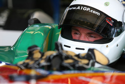 Alan van der Merwe, driver of A1 Team South Africa