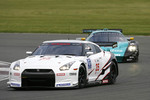 #35 Nissan Motorsports Nissan GT-R: Michael Krumm, Darren Turner