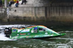 #22 class 2 TFI Racing: Alain Paris, Gilles Guillaumin, Cyrille Sirantoine, Alain Arreteau
