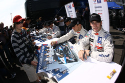 Christian Klien and Simon Pagenaud