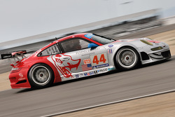 #44 Flying Lizard Motorsports Porsche 911 GT3 RSR: Seth Neiman, Johannes van Overbeek