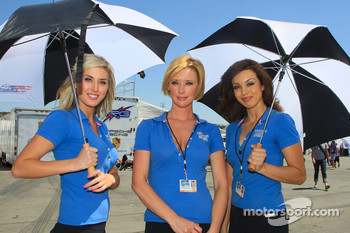 The lovey Mazda Raceway Laguna Seca girls