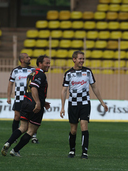 Star Team vs Nazionale Piloti, Charity Football Match, Monaco, Stade Louis II: Sebastian Vettel, Red Bull Racing