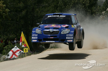 Patrik Sandell and Emil Axelsson, Skoda Fabia s2000